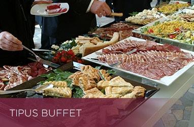 Banquet tipus buffet