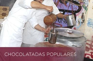 Chocolatadas populares