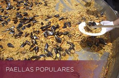 Paellas populares
